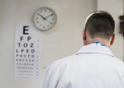 Atendimento oftalmológico e coronavírus