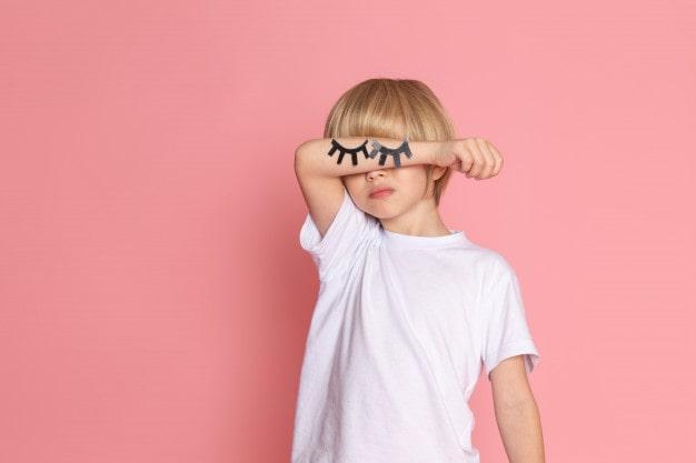 Problemas de visão na infância