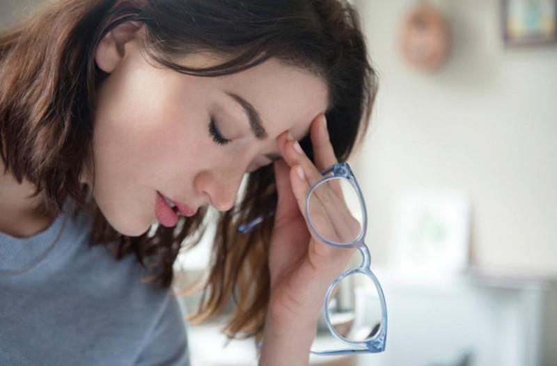 Sintomas da enxaqueca oftálmica